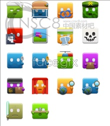 Link toCute cartoon little icons