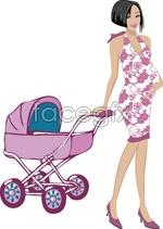 Link toCute cartoon mom vector