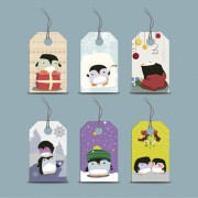 Link toCute cartoon penguin tags vector graphics free