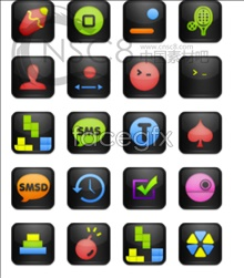 Link toCute cell phone small icons