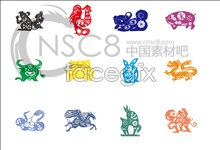 Link toCute chinese zodiac desktop icons
