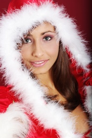 Link toCute christmas beauty photo picture