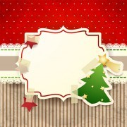 Link toCute christmas cards with frame vector set 01