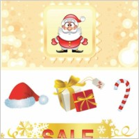 Link toCute christmas pattern vector