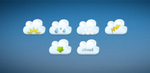 Link toCute cloud icon