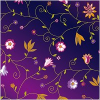 Link toCute colorful little flowers vector background