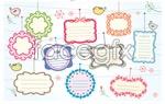 Link toCute dialog box vector