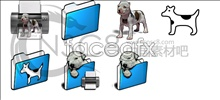 Link toCute dog series folder