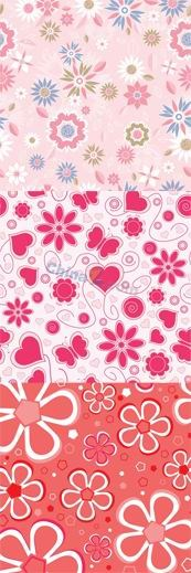 Link toCute flowers flower background vector