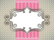 Link toCute greeting card vector free