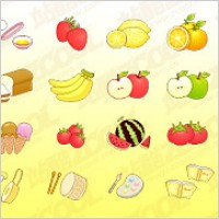 Link toCute icon vector material goods-1