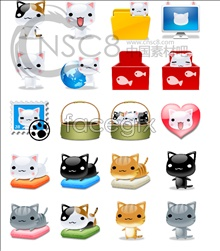 Link toCute kitten icons