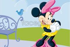 Link toCute minnie mouse disney cartoon vector