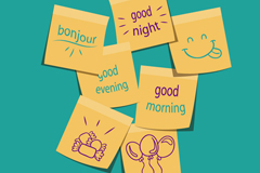 Link toCute note design vector