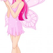 Link toCute pink fairy characters vector 03 free