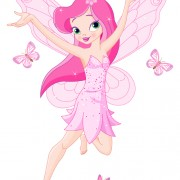 Link toCute pink fairy characters vector 05 free