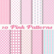 Link toCute pink pattern vector graphics free