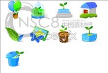 Link toCute plant desktop icons