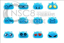 Cute qq smilies