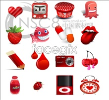 Link toCute red desktop icons