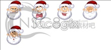 Link toCute santa claus icons