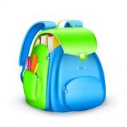 Link toCute school bag design vector 03 free