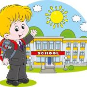Link toCute school children vectors geaphics set 02 free