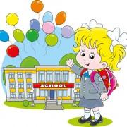 Link toCute school children vectors geaphics set 03 free
