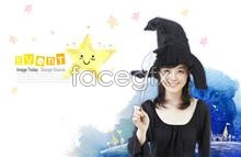 psd witch Cute