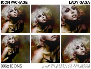 06x Lady Gaga Icon Package