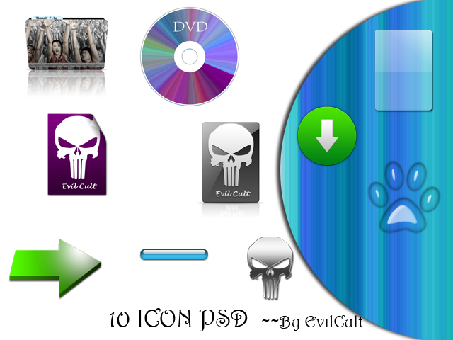 10Icons—PSD