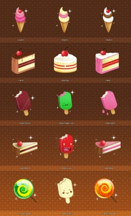 128×128 Icons Set 4 icons pack