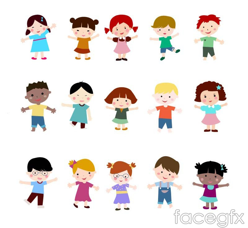 15 kindergarten children design vector over millions vectors 15 kindergarten children design vector toneelgroepblik Image collections