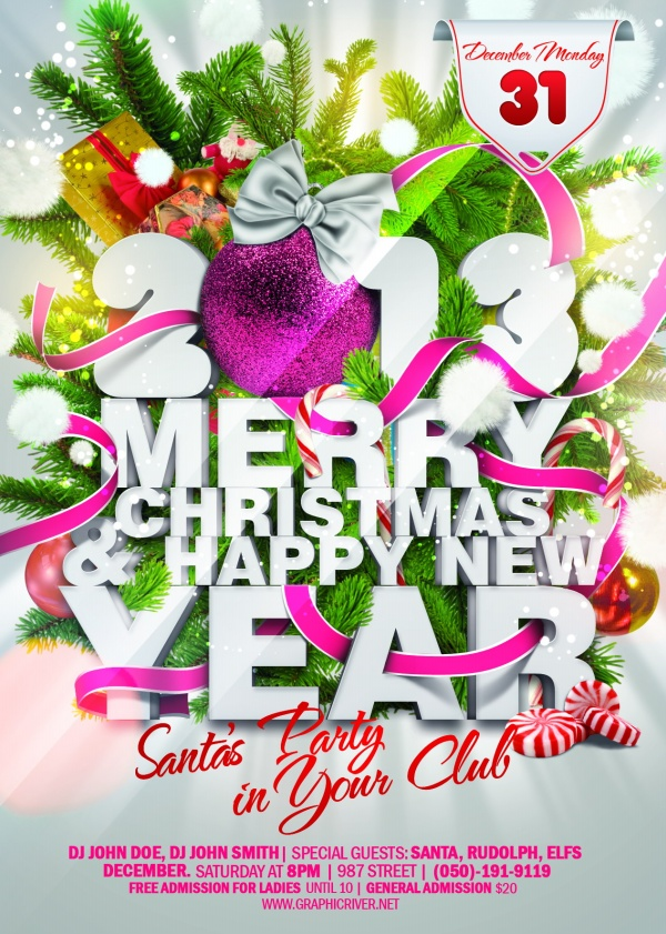 2013 decoration theme poster source material