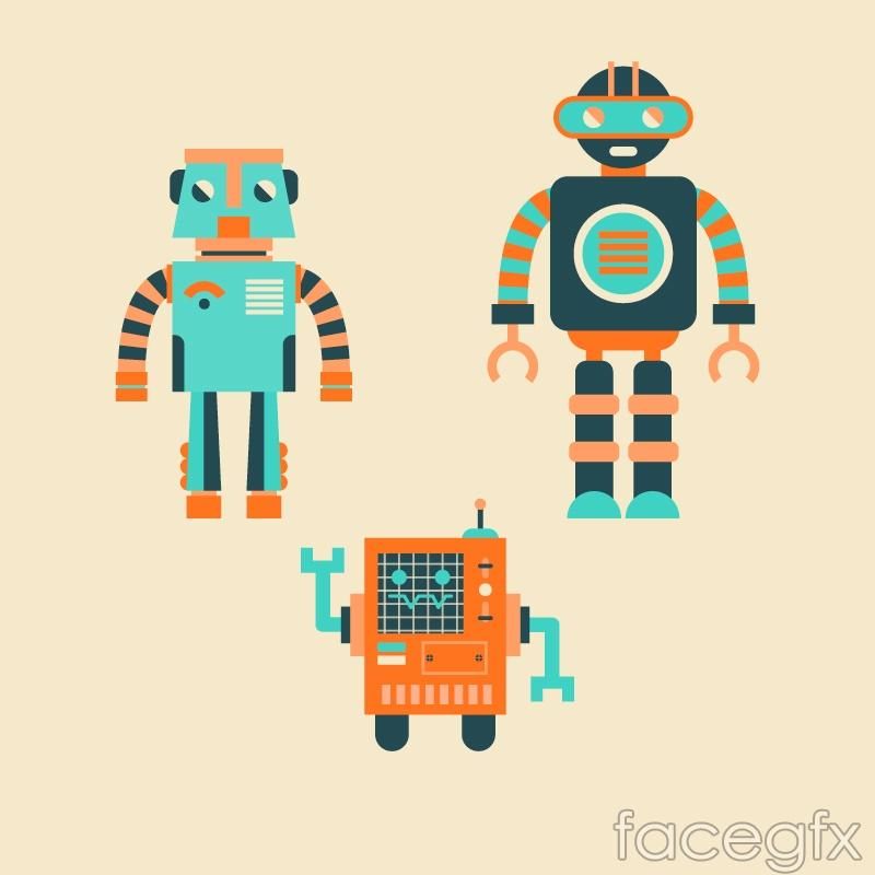 3 colored robot vector over millions vectors stock photos hd 3 colored robot vector toneelgroepblik Gallery