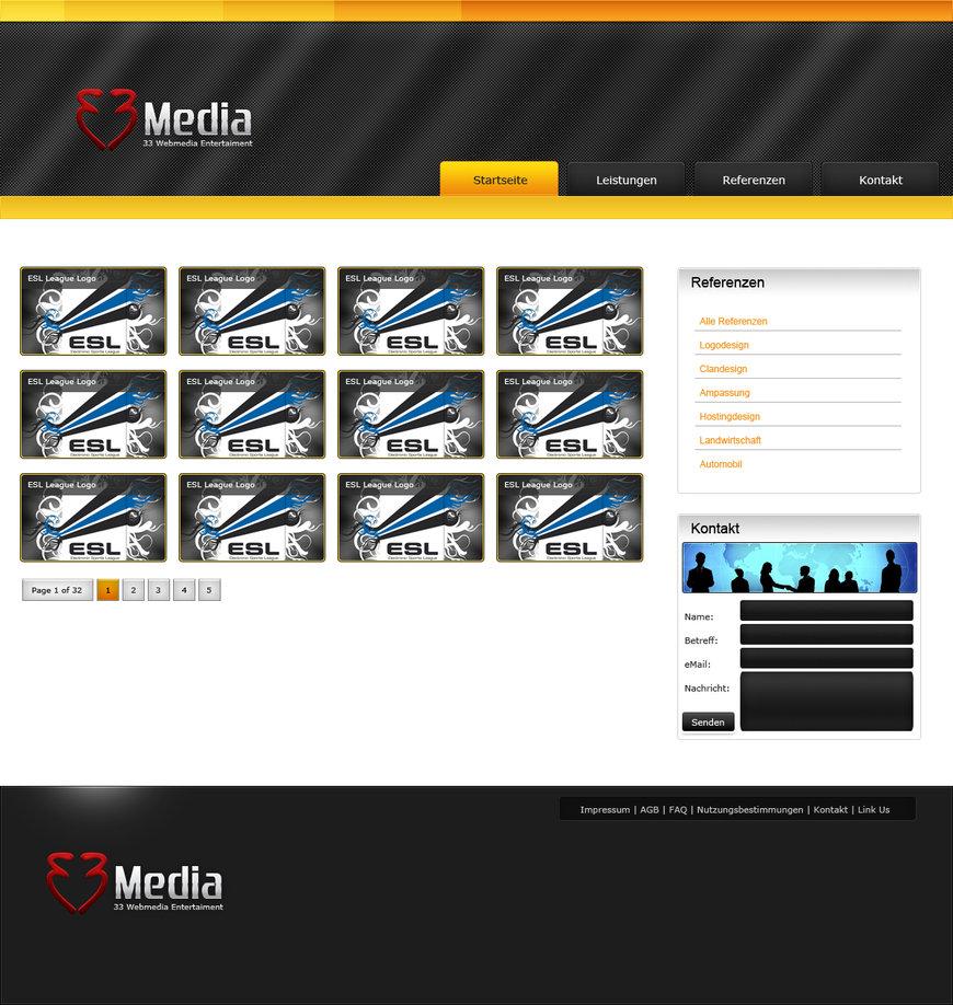 33Media Portfolio Design
