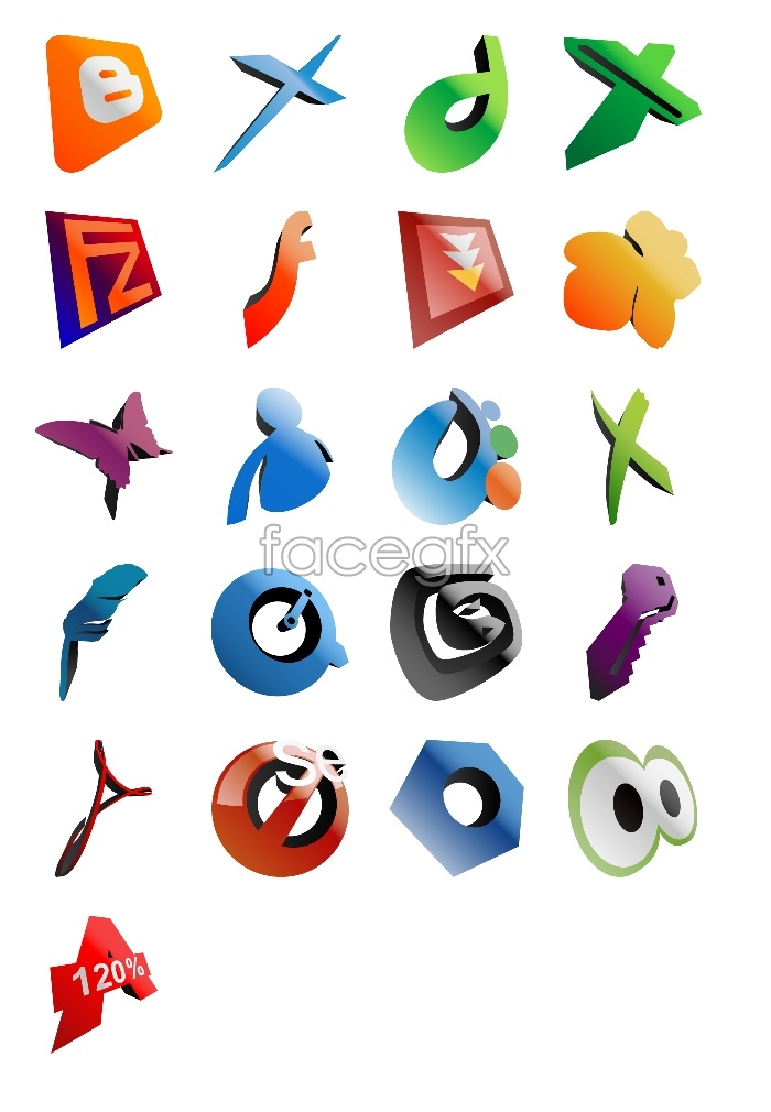 3D software for computer icons