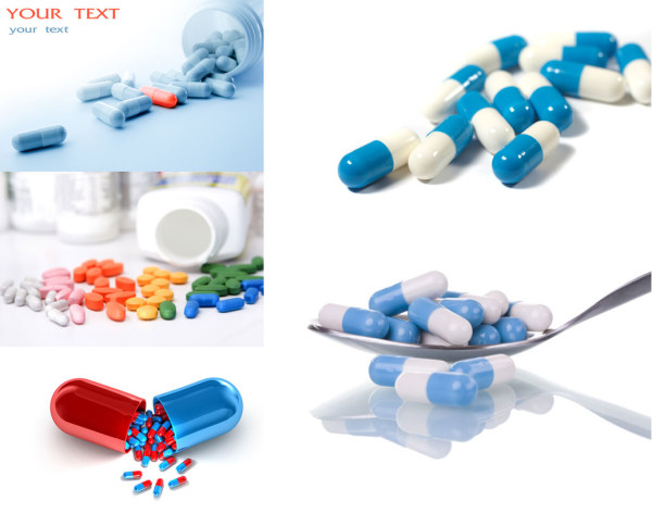 5 pills HD picture