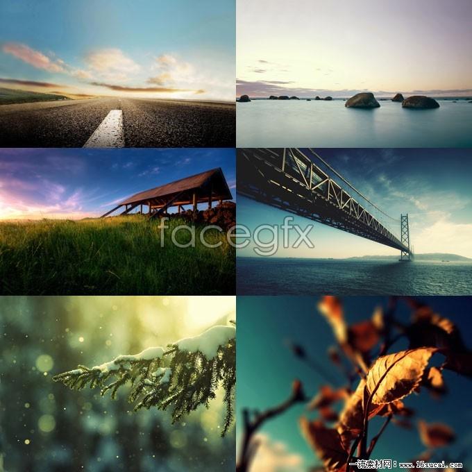 6 landscape desktop wallpapers HD picture
