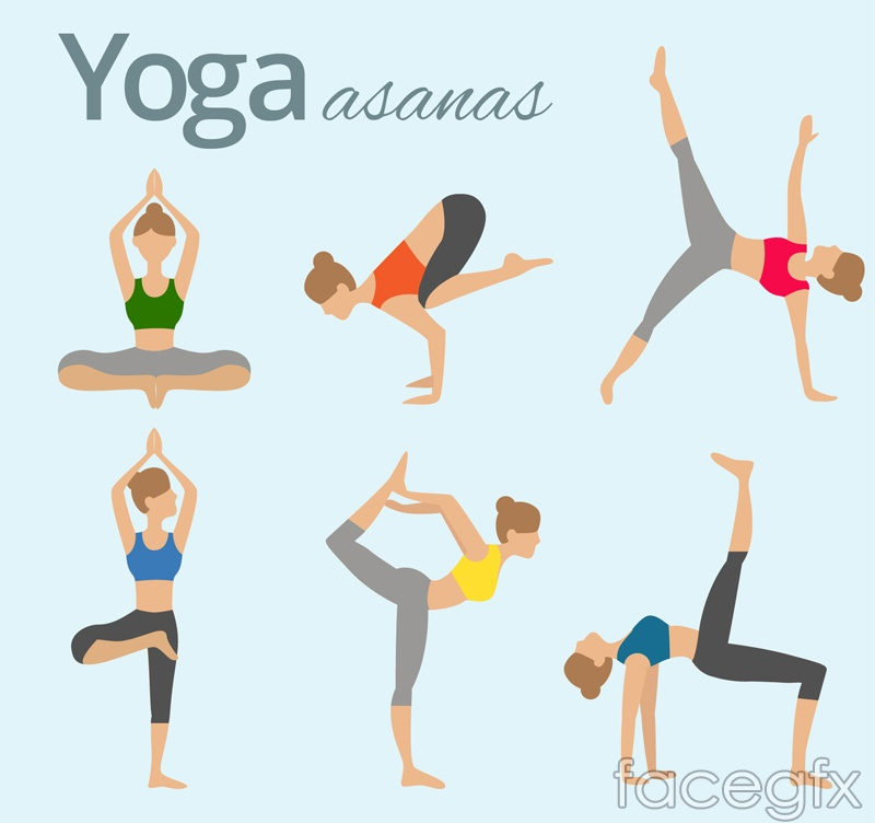 6 womens yoga pose action vector graphics over millions vectors 6 womens yoga pose action vector graphics free download 6 womens toneelgroepblik Image collections