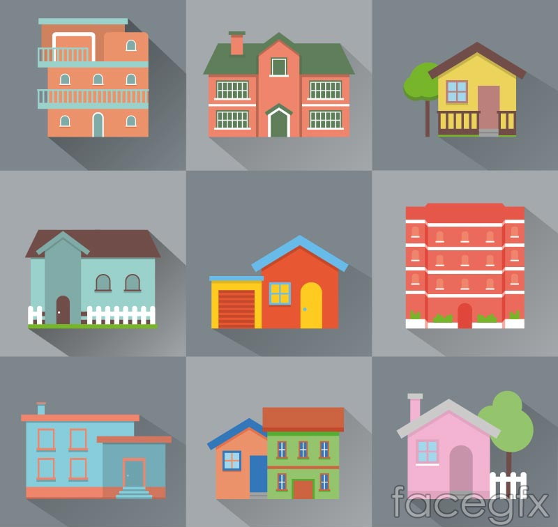 9 creative home design vector – Over millions vectors, stock photos ...