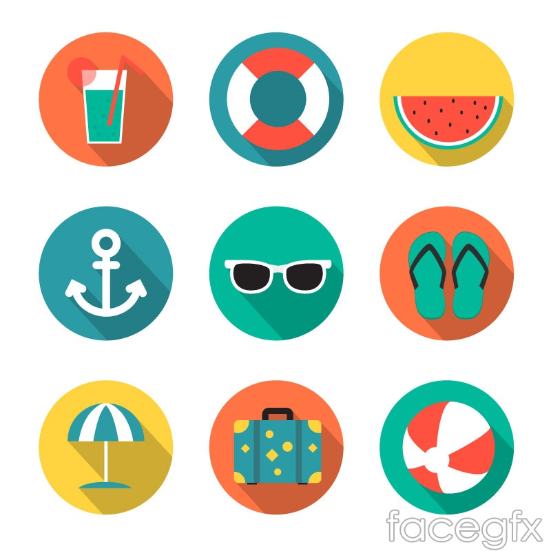 9 round holiday icon vector over millions vectors stock