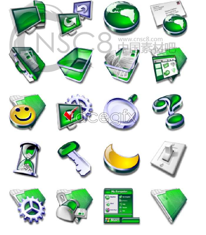 A significant system replacement icons