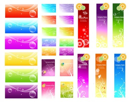 a variety of fantasystyle vector background