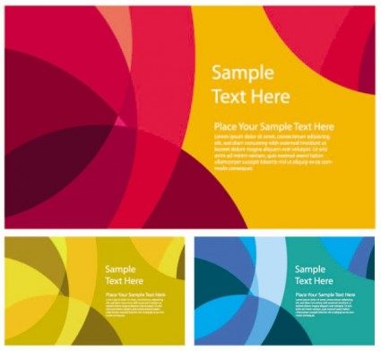 abstract color patterns 03 vector
