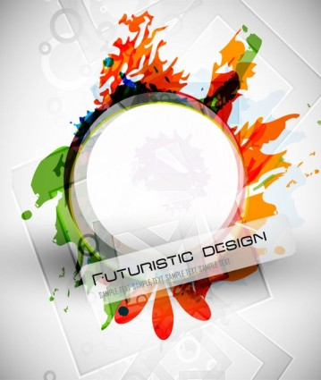 abstract design elements 02 vector