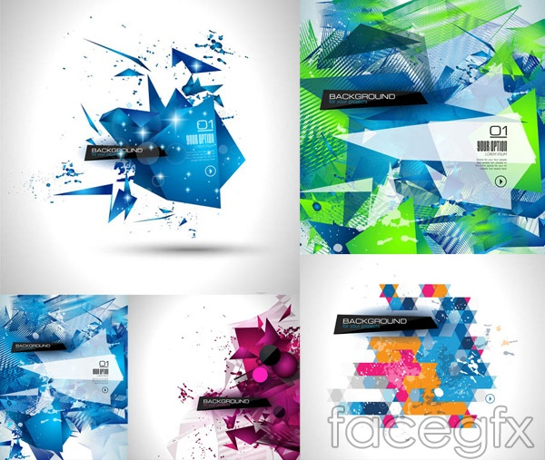 Abstract geometric shapes vector over millions vectors stock abstract geometric shapes vector toneelgroepblik Gallery