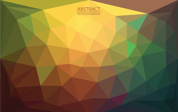 Abstract triangle embossment vector background 03 free