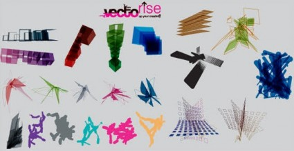 Abstracts vector