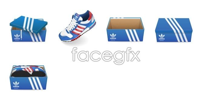Adidas product icons